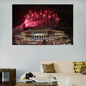 Citi Field Fireworks Mural Fathead Wall Decal